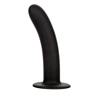 Calexotics Boundless 7 inch Smooth Silicone Probe In Black