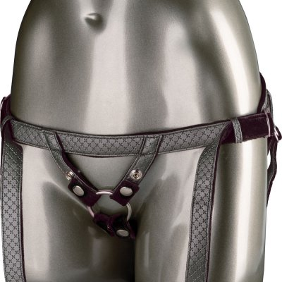 Calexotics Her Royal Harness The Regal Duchess In Pewter