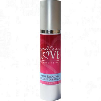 Endless Love Anal Relaxing Silicone Lubricant 1.7 Oz