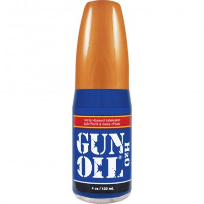 Gun Oil H2O Water Based Personal Lubricant 4 Oz