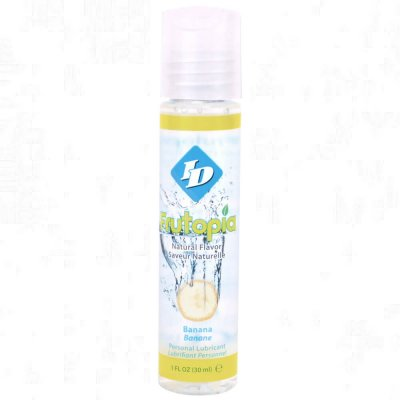 ID Frutopia Naturally Flavored Lubricant In Banana 1 Oz