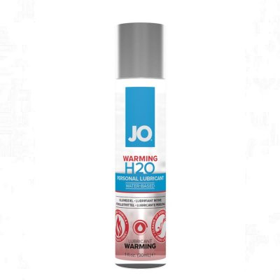 JO H2O Warming Water Based Personal Lubricant 1 Oz
