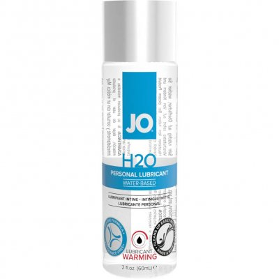 JO H2O Warming Water Based Personal Lubricant 2 Oz
