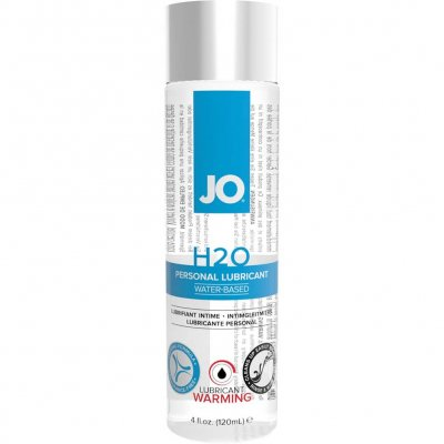 JO H2O Warming Water Based Personal Lubricant 4 Oz