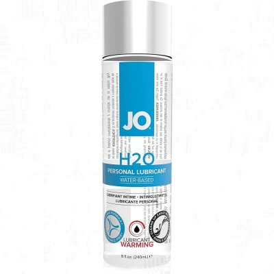 JO H2O Warming Water Based Personal Lubricant 8 Oz