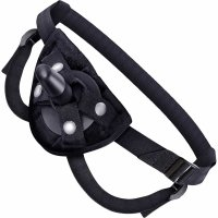 Lock On Pleasure Tools Strap-On Harness In Black
