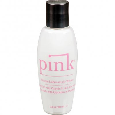 Pink Silicone Lubricant For Women 2.8 Oz