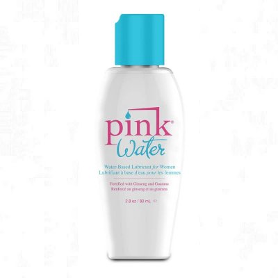 Pink Water Water Base Lubricant for Women 2.8 Oz