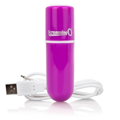 Screaming O Charged Vooom Rechargeable Bullet Vibe In Purple