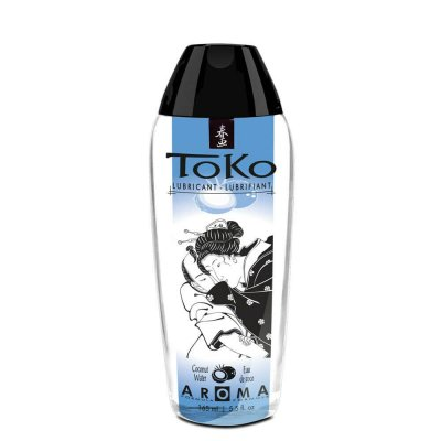 Shunga Erotic Art Toko Aroma Flavored Lube Coconut Water 5.5 Oz