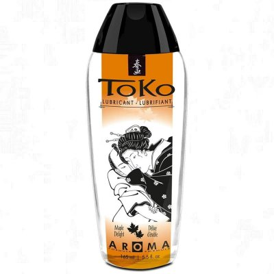 Shunga Erotic Art Toko Aroma Flavored Lube Maple Delight 5.5 Oz